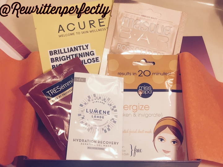 Target Facial Beauty box (Quench & Glow)