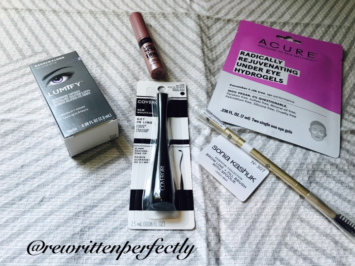 Target Beauty Box – October Eye Review